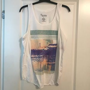 Bowery Supply & Co Shirts - BOWERY SUPPLY Co LOS ANGELES SANTA MONICA Tank Top